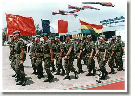 United Nations Transitional Authority, Phnom Penh, Cambodia, September 1993.