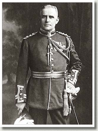 Major-General Sir Sam Hughes, ca. 1915.