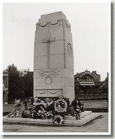Lord Tweedsmuir Unveils the Cenotaph, Edmonton, Alberta, 1936.