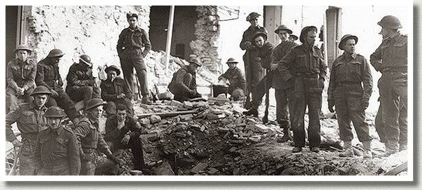 Lance Corporal Roy Boyd Saved from Rubble, Ortona, Italy, 30 December 1943.